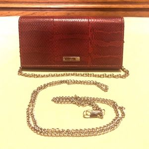 Authentic Gucci Python Leather Wallet On Chain